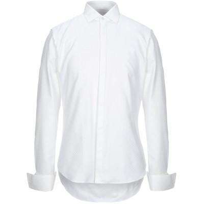 CC COLLECTION CORNELIANI シャツ ホワイト 40 コットン 100% シャツ