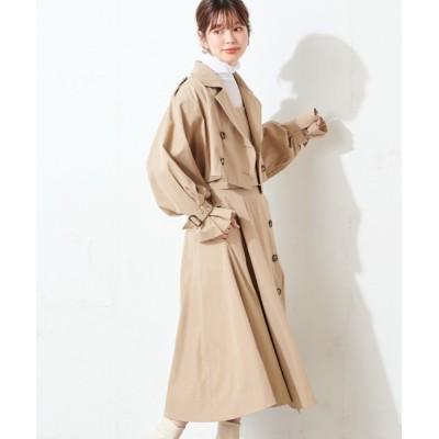 natural couture / 【WEB限定】マルチウェイトレンチコート(ビスチェ+スカートセット) WOMEN ジャケット/アウター > トレンチコート