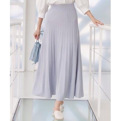 【セットアップ対応】ライトニットアップ ニットスカート