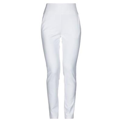 アトス ロンバルディーニ ATOS LOMBARDINI パンツ ホワイト 40 レーヨン 61% / ナイロン 30% / ポリウレタン 9% パ