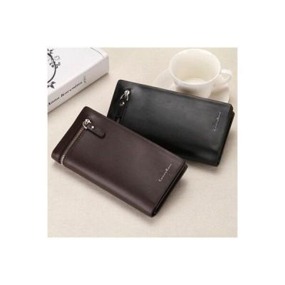 二つ折りメンズ財布 メンズ革長財布 クラッチ 男性 マネー財布 id カードホルダー  2件 CZJB325
