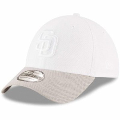 New Era ニュー エラ スポーツ用品  New Era San Diego Padres White Tone Tech Redux 2 39THIRTY Flex Hat