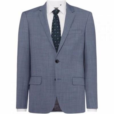 ヒューゴ ボス Hugo メンズ スーツ・ジャケット アウター Jeffrey Regular Fit Texture Two-Piece Suit Jacket Light Blue