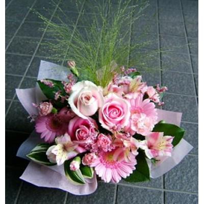 【人気ランキング 1位】父の日 プレゼント 誕生日 結婚記念日 ギフト 花34 おまかせ!ピンク系アレンジメント 花ギフト花