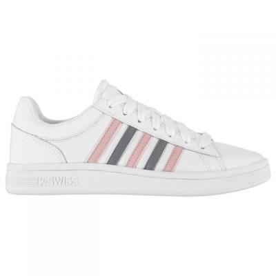 ケースイス K Swiss レディース スニーカー シューズ・靴 Winston Trainers White/PMauve/Sm
