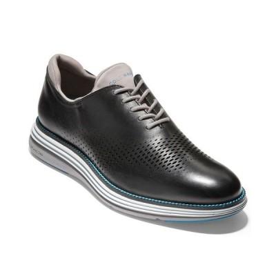 コールハーン ドレスシューズ シューズ メンズ Men's riginalGrand Ultra Laser Oxford Shoes Black/cool Gray-ironstone