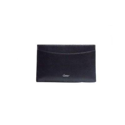 Cartier カルティエ レザー カードケース ブラック<未使用品>【送料無料】