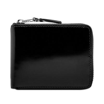 コムデギャルソン Comme des Garcons Wallet メンズ 財布 comme des garcons sa7100 mirror inside wallet Black/Silver Mirror