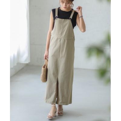 SUGAR BISKET / ロングジャンパースカート WOMEN オールインワン・サロペット > サロペット/オーバーオール