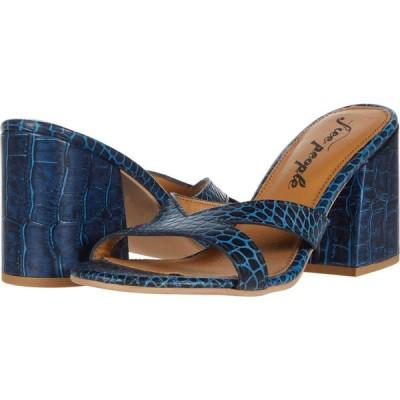 フリーピープル Free People レディース サンダル・ミュール シューズ・靴 Charlie-V Heel Blue