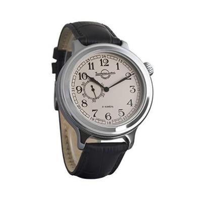 海外限定 Vostok Retro Kirovskie K-43 WWII Russian Self-Winding Classic Style Mens Wrist Watch Leather Strap (550931)