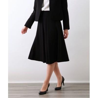 AMACA/アマカ 【Precious Collection】MISSIONセミフレアースカート ブラック 40