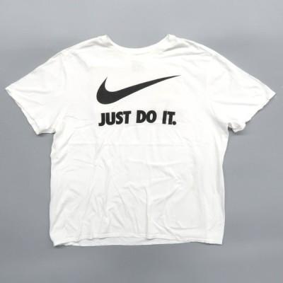 ナイキ ロゴ プリントTシャツ JUST DO IT サイズ表記:XXL