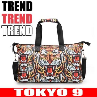 バッグ レディース メンズ ユニセックス 個性的 ショルダーバッグ ハンドバッグ トートバッグ ストリート系 大きめ ビッグ トラ 虎  TOKYO9