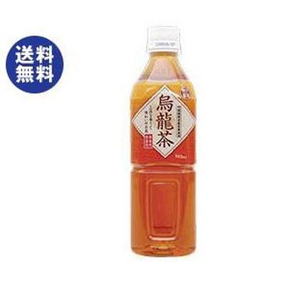 送料無料 富永貿易 神戸茶房 烏龍茶 500mlペットボトル×24本入
