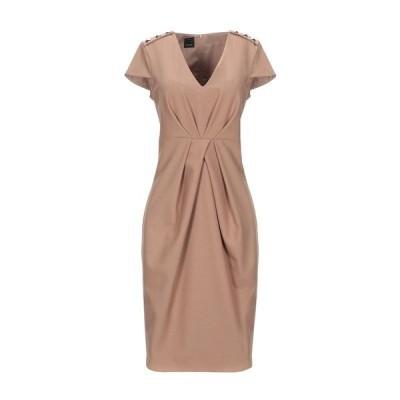 PINKO チューブドレス ファッション  レディースファッション  ドレス、ブライダル  パーティドレス キャメル