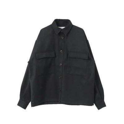 シャツ ブラウス GOODBETTERBEST ツイルシャツ