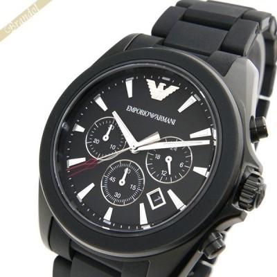 エンポリオアルマーニ EMPORIO ARMANI メンズ腕時計 クロノグラフ 46mm シルバー AR6092