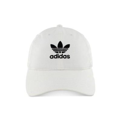 アディダス adidas メンズ 帽子 Hat White