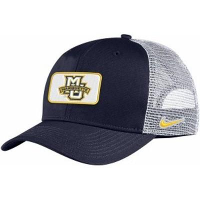 ナイキ メンズ 帽子 アクセサリー Nike Men's Marquette Golden Eagles Blue Classic99 Trucker Hat