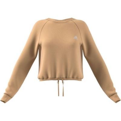 アディダス レディース Tシャツ トップス Essentials Cropped Sweatshirt