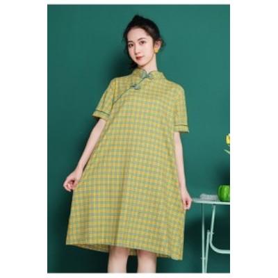 ZQ/ZSRB#夏 新しい ファッション カジュアル ゆるい ドレス CZJB665