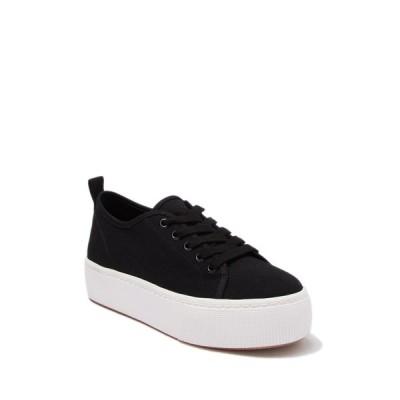 アボンド レディース スニーカー シューズ Neely Platform Sneaker BLACK FABRIC