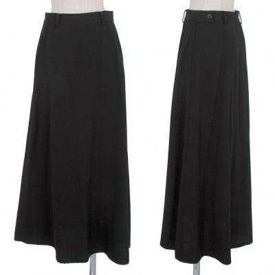 ワイズY's ウールギャバロングスカート 黒M位 【レディース】