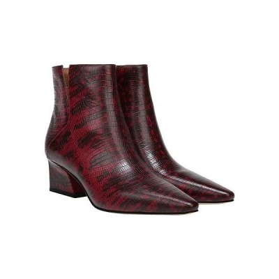 Franco Sarto フランコサルト レディース 女性用 シューズ 靴 ブーツ アンクル ショートブーツ Sandria - Wine Mojave