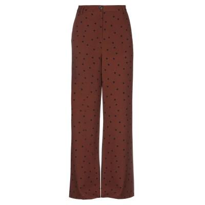 STINE GOYA パンツ ブラウン XS ポリエステル 97% / ポリウレタン 3% パンツ
