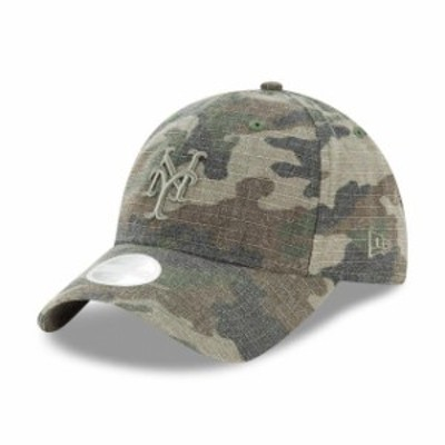 New Era ニュー エラ スポーツ用品  New Era New York Mets Womens Camo Tonal Core Classic 9TWENTY Adjustable Hat