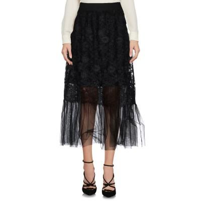 LADY CHOCOPIE 7分丈スカート ブラック 42 ポリエステル 100% / ナイロン 7分丈スカート