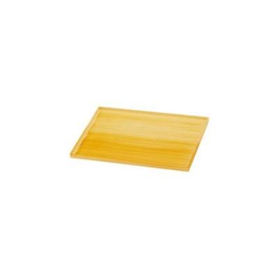 (業務用・長角)平成長手盆 白木征目尺2寸(入数:5)