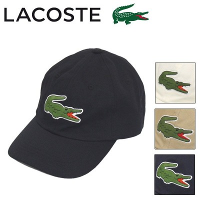 LACOSTE (ラコステ) CLM1148 クロコ刺繍 6方 キャップ 全4色 LC216