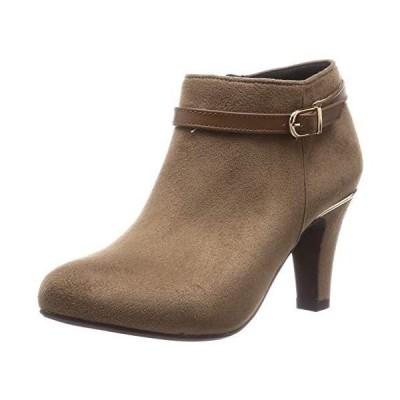 オリエンタルトラフィック ブーツ レディース ポインテッドトゥ 美脚 ヒール 大きいサイズ 小さいサイズ 歩きやすい ショート ベルト 14