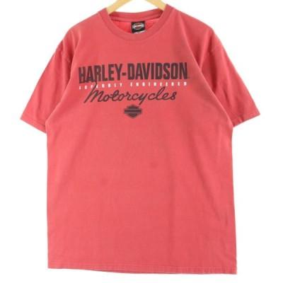 ハーレーダビッドソン Harley-Davidson Tシャツ L /eaa041243