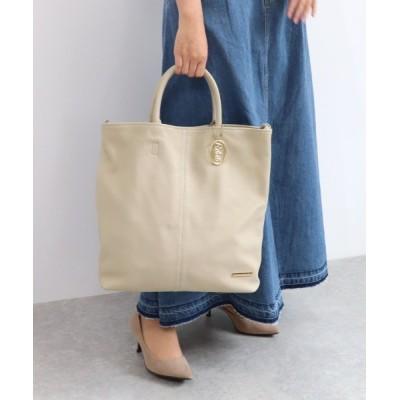 TRYSIL / 牛革 ショルダー付きA4トートバッグ WOMEN バッグ > トートバッグ