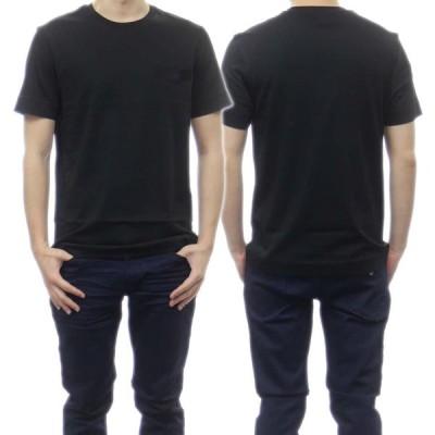 EMPORIO ARMANI エンポリオアルマーニ メンズクルーネックTシャツ 3K1TR3 1JSHZ ブラック /2021春夏新作