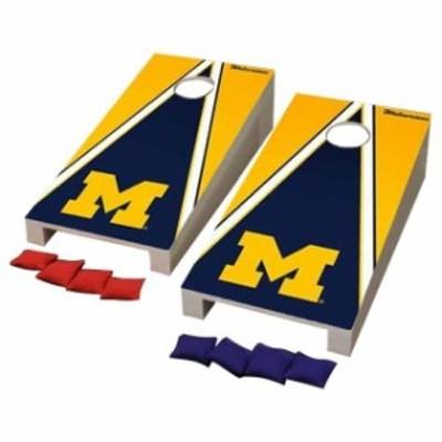 Victory Tailgate ビクトリー テイルゲート スポーツ用品  Michigan Wolverines Desktop Triangle Cornhole Game Set