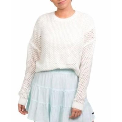ハーレー レディース ニット・セーター アウター Cotton Easy Open Knit Sweater Sail