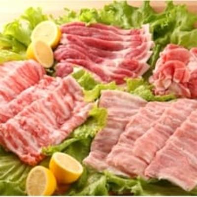 瀬戸のもち豚せと姫 いろいろ味わえるバラエティセット計1.2kg 【福山ブランド認定品】
