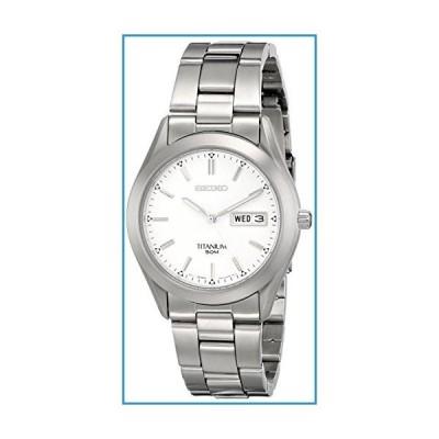 新品Seiko Men's SGG705 Titanium Bracelet Watch【並行輸入品】