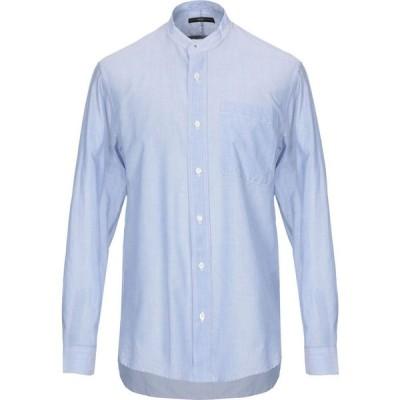 ハイ バイ クレール キャンベル HIGH by CLAIRE CAMPBELL メンズ シャツ トップス Solid Color Shirt Sky blue
