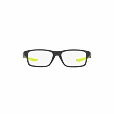 Oakley Kids' OY8002 Crosslink XS Square Prescription Eyewear Frames, Satin Olive/Demo Lens, 51 mm