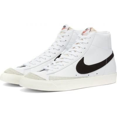 ナイキ Nike レディース スニーカー シューズ・靴 Blazer Mid 77 W White/Black