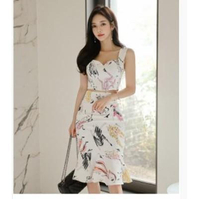 ワンピースドレス レディース セットアップ 30代40代 春夏 きれいめ フォーマル セクシー 結婚式ドレス オフィス 韓国風 通勤 マーメイド