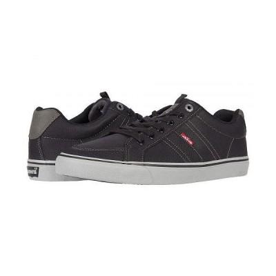 Levi's(R) Shoes リーバイス メンズ 男性用 シューズ 靴 スニーカー 運動靴 Turner Tumbled - Black/Charcoal