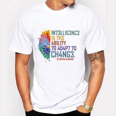 カジュアルトップ メンズTシャツ サマーファッション クール半袖 メンズ服 ストリートウェア グラフィックTシャツ  Tシャツ 
