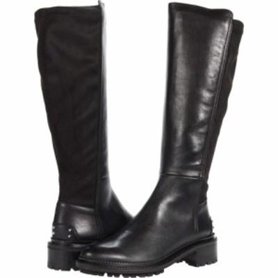 アクアタリア Aquatalia レディース ブーツ シューズ・靴 Omara Black Calf/Stretch
