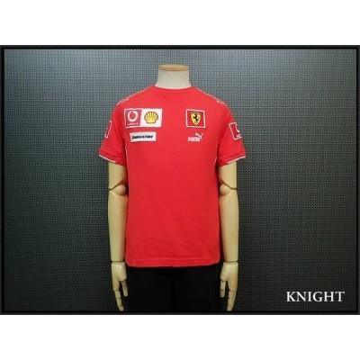 送料無料 PUMA × Ferrari Tシャツ・・◆プーマ フェラーリ/ボーダフォン シェル/20*7*2
